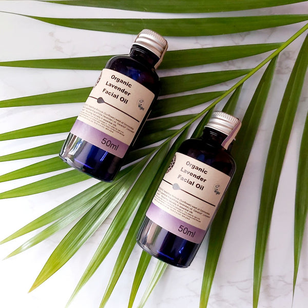 Facial Oil - Organic Lavender, Skin Oil, A fine choice, - The Clean Market