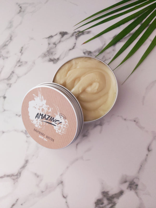 Raspberry Butter - SPF 15+, Body Butter, Amazinc!, - The Clean Market