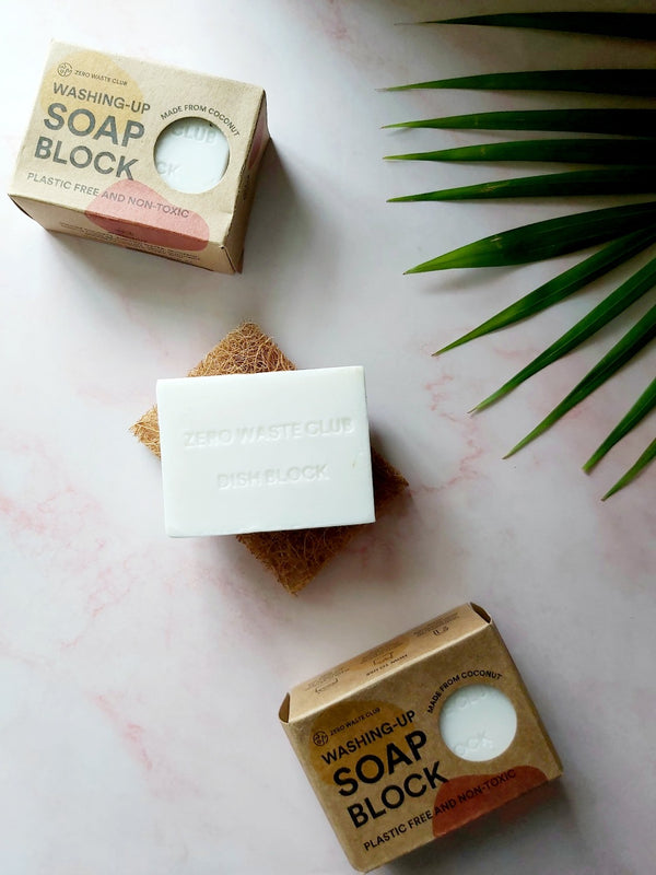 Washing Up Soap Block, Zero Waste Club, The Clean Market