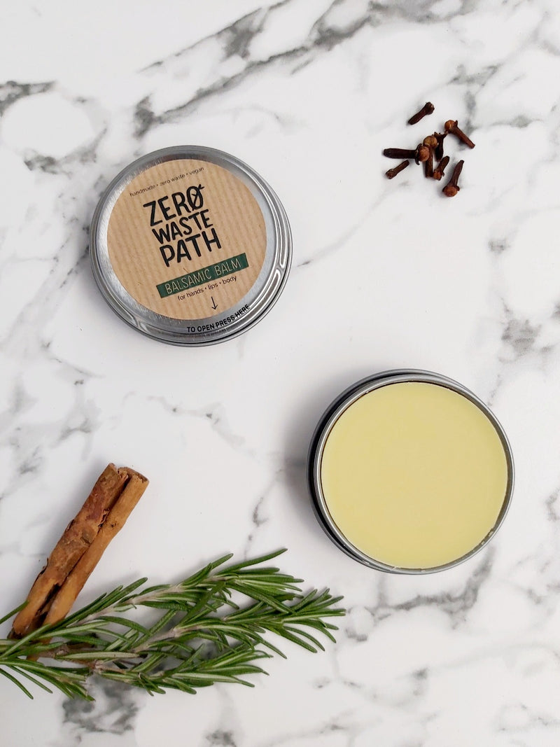 Multipurpose Balm - Balsamic, Zero Waste Path, The Clean Market