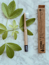 Hydrophil Bamboo Toothbrush - Kids Blue, Toothbrush, A fine choice, - The Clean Market