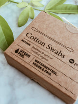 Plastic Free Cotton Buds - Pack of 100, A fine choice, The Clean Market