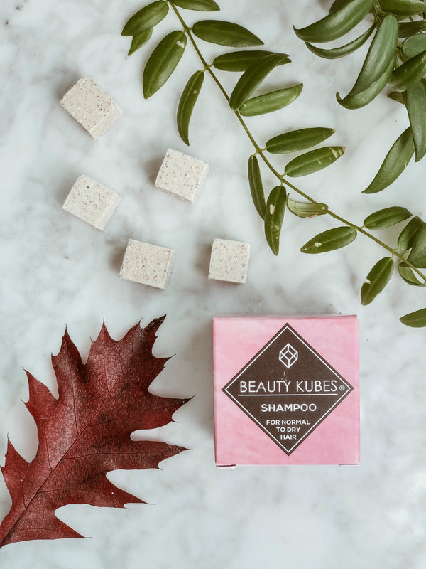 Plastic Free Shampoo Cube - Normal to Dry Hair - The Clean Market