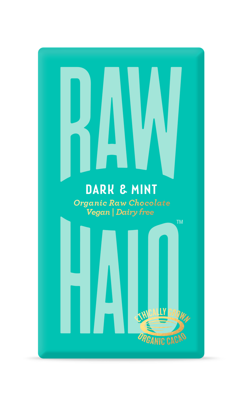 Organic Raw Chocolate - Dark & Mint, Raw Halo, The Clean Market