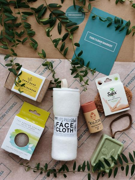 Custom Natural Beauty Box, The Clean Market, The Clean Market