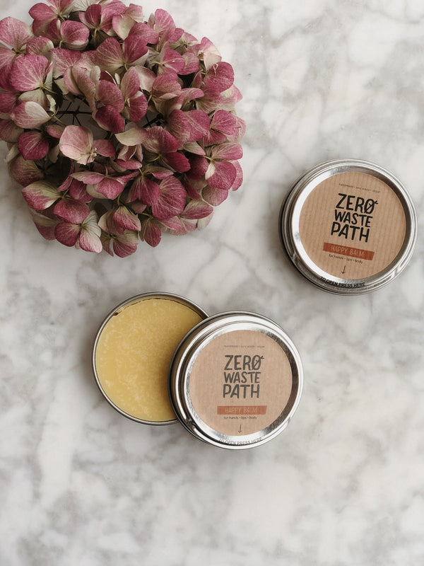 Multipurpose Balm - Happy, Zero Waste Path, The Clean Market