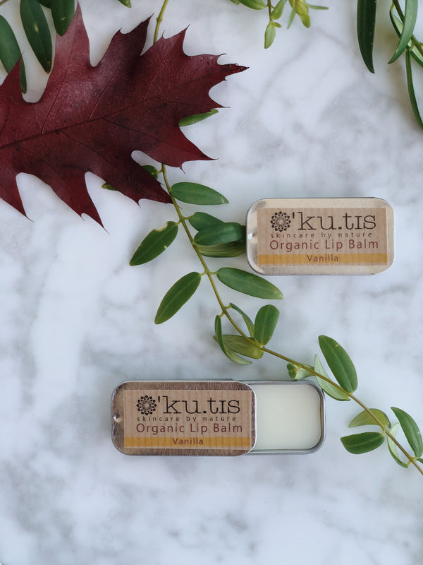 Organic Lip Balm - Vanilla, Lip Butter, Ku.tis, - The Clean Market