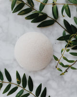 Konjac Facial Sponge - The Elements: Water, Facial Sponge, The Konjac Sponge Co, - The Clean Market