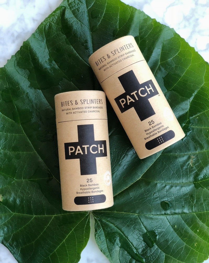 Patch Biodegradable Bamboo Plasters - Activated Charcoal, A fine choice, The Clean Market