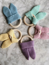 Handmade Crochet Baby Toys - Turquoise Pack, baby toys, The Clean Market, - The Clean Market