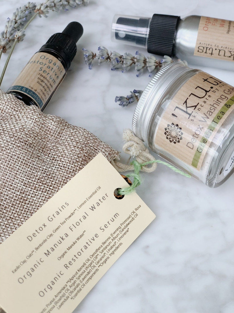 Daily Face Care Pack - Detox, Ku.tis, The Clean Market