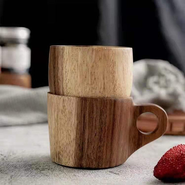 Natural Acacia Wood Mug, The Clean Market , The Clean Market