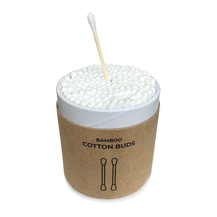Plastic Free Cotton Buds - Pack of 200, Zero Waste Club, The Clean Market
