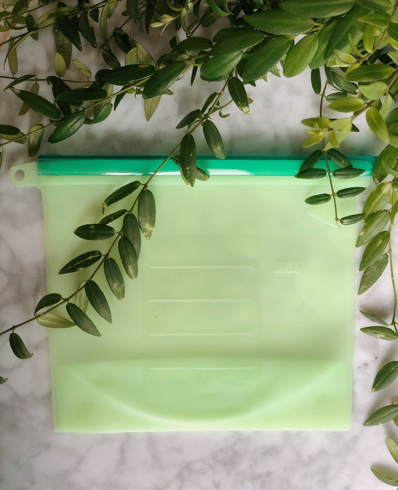 Reusable Silicone Food Bag, The Clean Market, The Clean Market