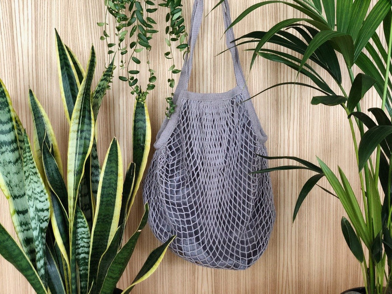 Organic Cotton Net Bag, Net Bag, The Clean Market, - The Clean Market