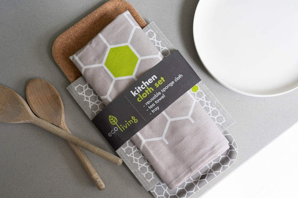 Kitchen Cloth Set, Ecoliving, The Clean Market