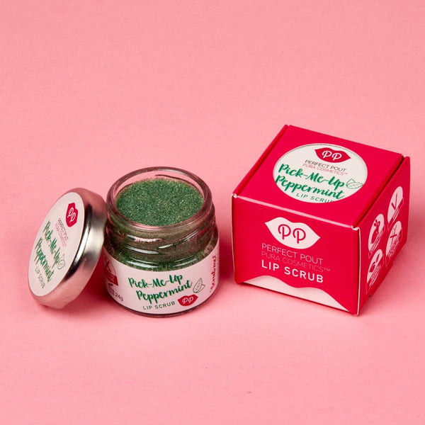 Lip Scrub - Pick-Me-Up Peppermint, lip scrub, Pura Cosmetics, - The Clean Market