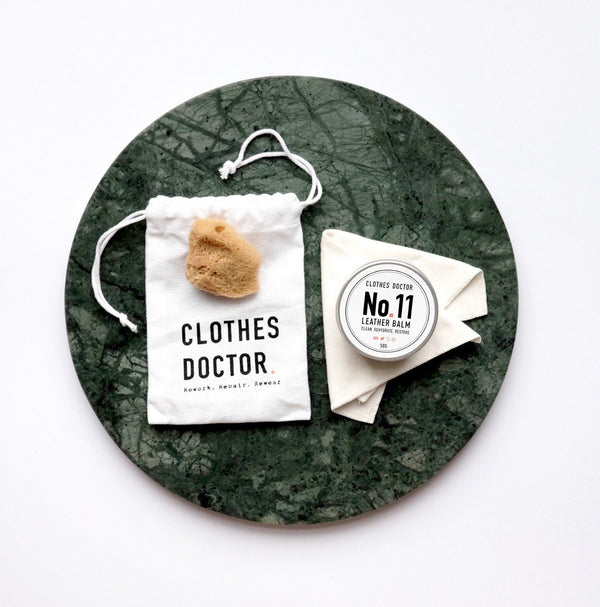 Leather Care Kit, Clothes Doctor, The Clean Market
