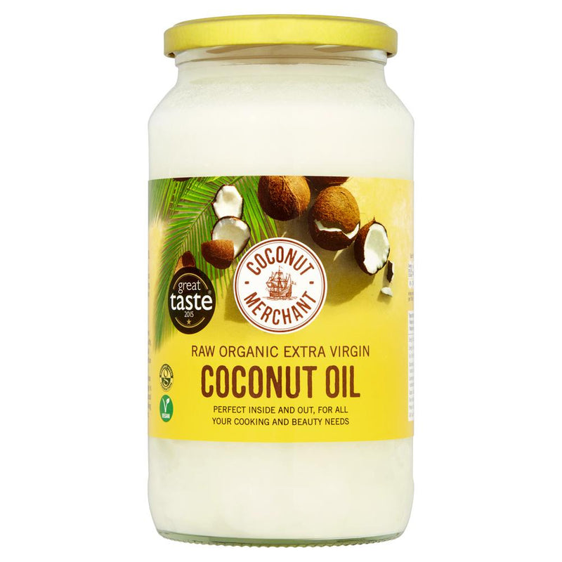 Raw Organic Extra Virgin Coconut Oil, Skin Oil, Coconut Merchant, - The Clean Market