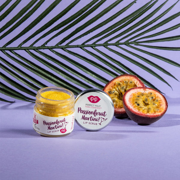 Lip Scrub - Passionfruit Martini, lip scrub, Pura Cosmetics, - The Clean Market