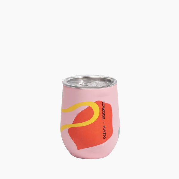 Stemless Wine Cup - Poketo Pink Party, Auteur, The Clean Market