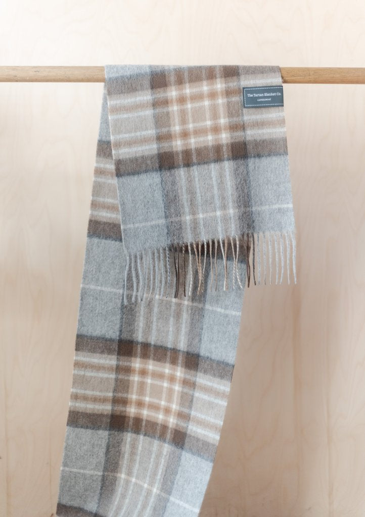Pure Lambswool Scarf - Mackellar Tartan, Scarf, The Tartan Blanket Co, - The Clean Market