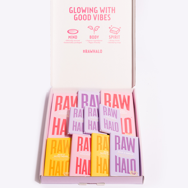 Vegan Chocolate Gift Collection - Mylk, Raw Halo, The Clean Market