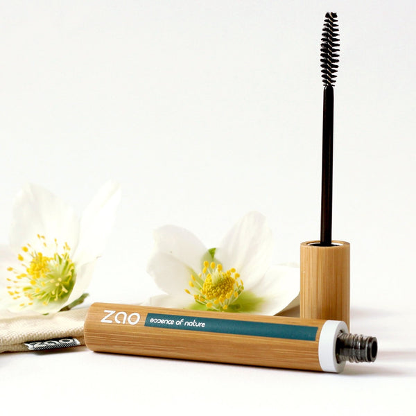 Zao Refillable Mascara Volume & Sheathing, Makeup, Zao, - The Clean Market