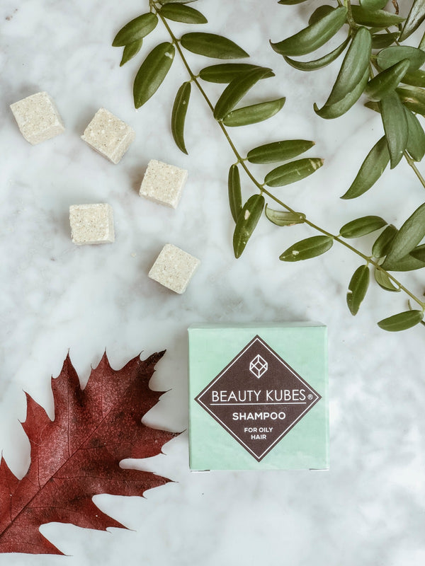 Plastic Free Shampoo Cube - Oily Hair, Beauty Kubes, The Clean Market