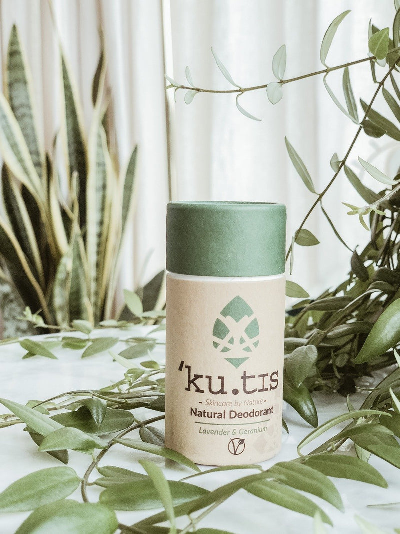 Natural Deodorant - Lavender & Geranium, Ku.tis, The Clean Market