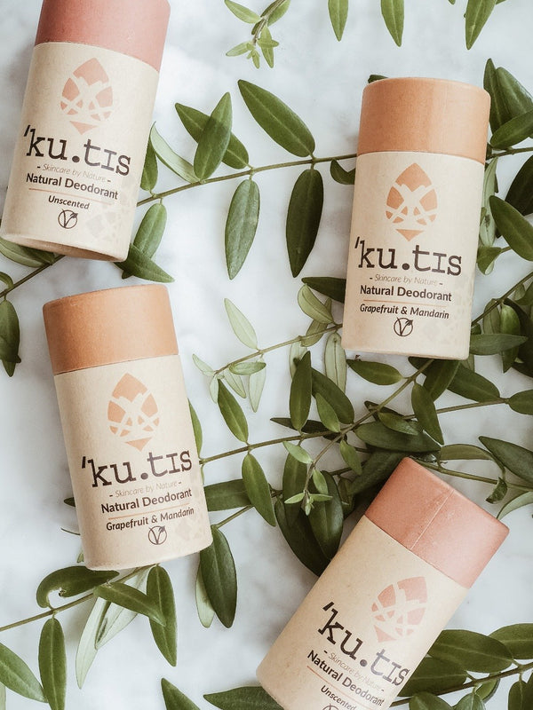 Natural Deodorant - Unscented, Deodorant, Ku.tis, - The Clean Market
