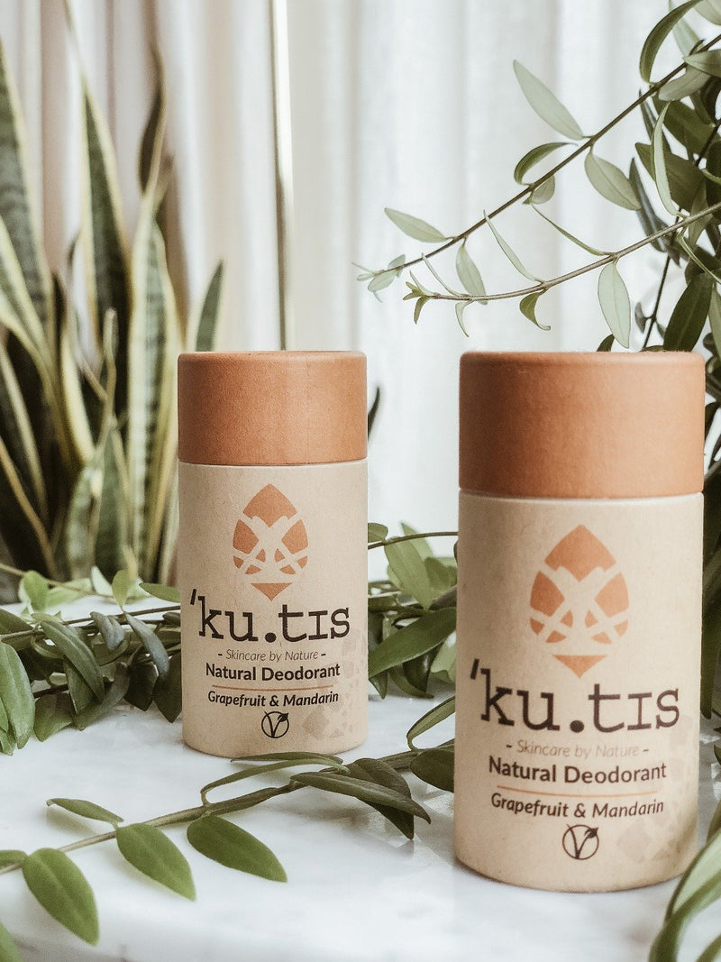 Natural Deodorant - Grapefruit & Mandarin, Ku.tis, The Clean Market