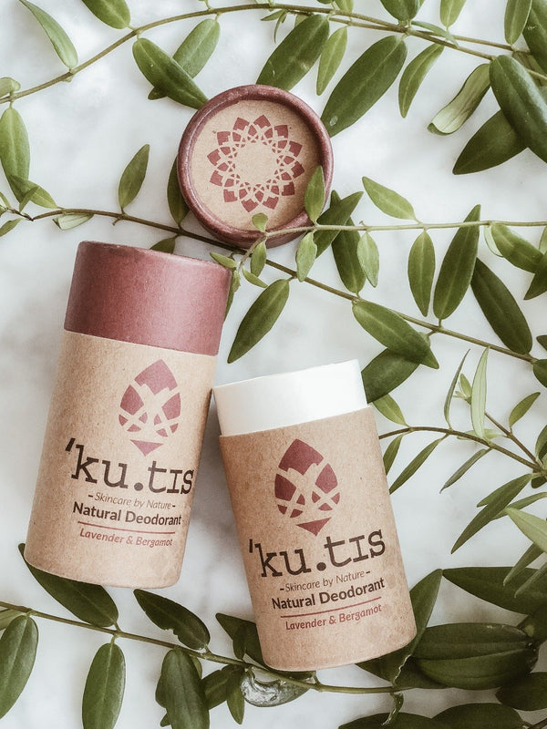 Natural Deodorant - Lavender & Bergamot, Ku.tis, The Clean Market