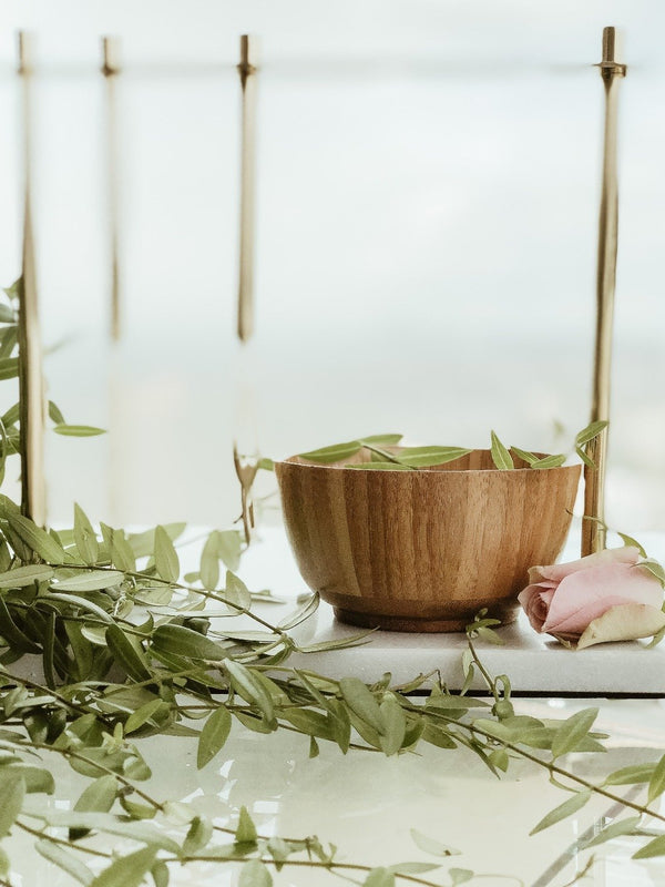 Natural Bamboo Bowl, Bowl, The Clean Market, - The Clean Market