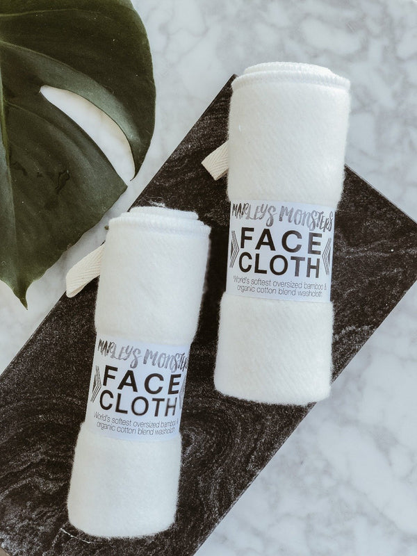 Bamboo Face Cloth, Face Cloths, Marley's Monsters, - The Clean Market
