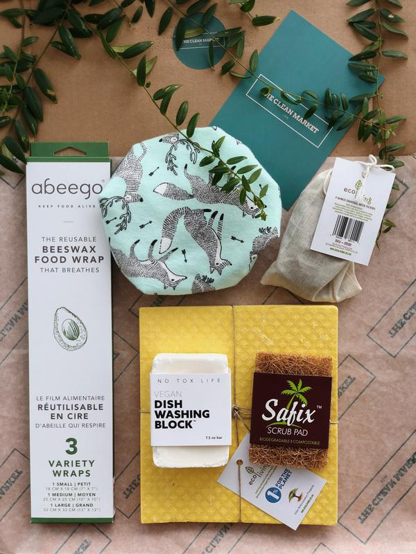 Custom Sustainable Kitchen Box, Custom Bundle, The Clean Market, - The Clean Market