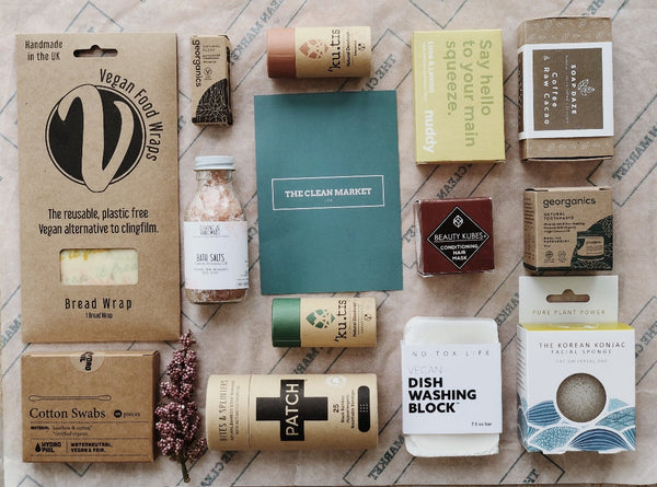 Custom Vegan Box, Custom Bundle, The Clean Market, - The Clean Market