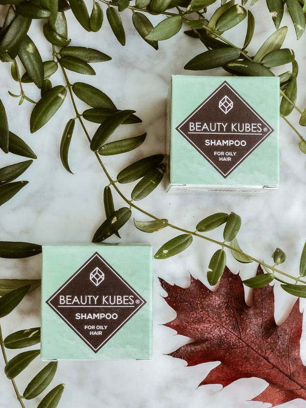 Plastic Free Shampoo Cube - Oily Hair, Shampoo, Beauty Kubes, - The Clean Market