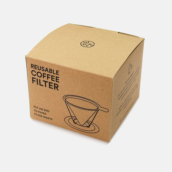 Reusable Coffee Filter - Stainless Steel, Zero Waste Club, The Clean Market