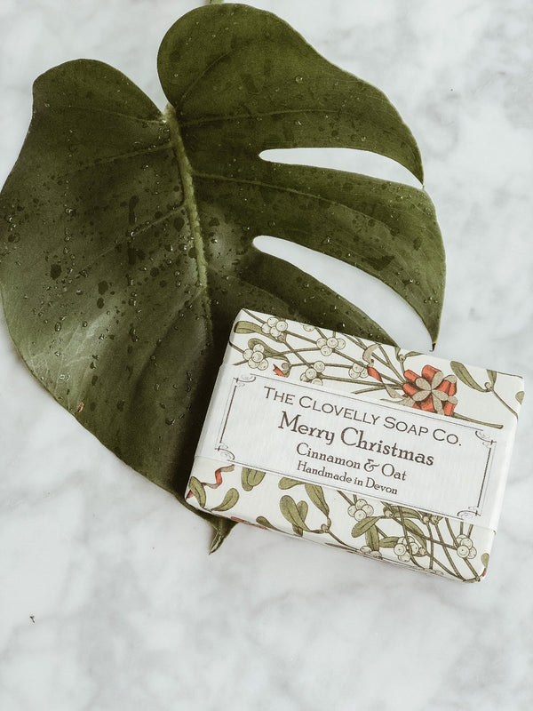 Handmade Natural Soap - Cinnamon & Oats - Christmas Edition, The Clovelly Soap Company, The Clean Market