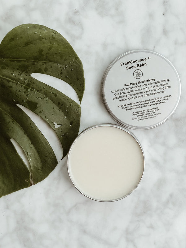 Full Body Butter - Frankincense + Shea Balm, Wild Sage + Co, The Clean Market