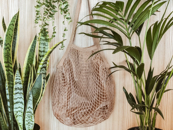Organic Cotton Net Bag, The Clean Market, The Clean Market