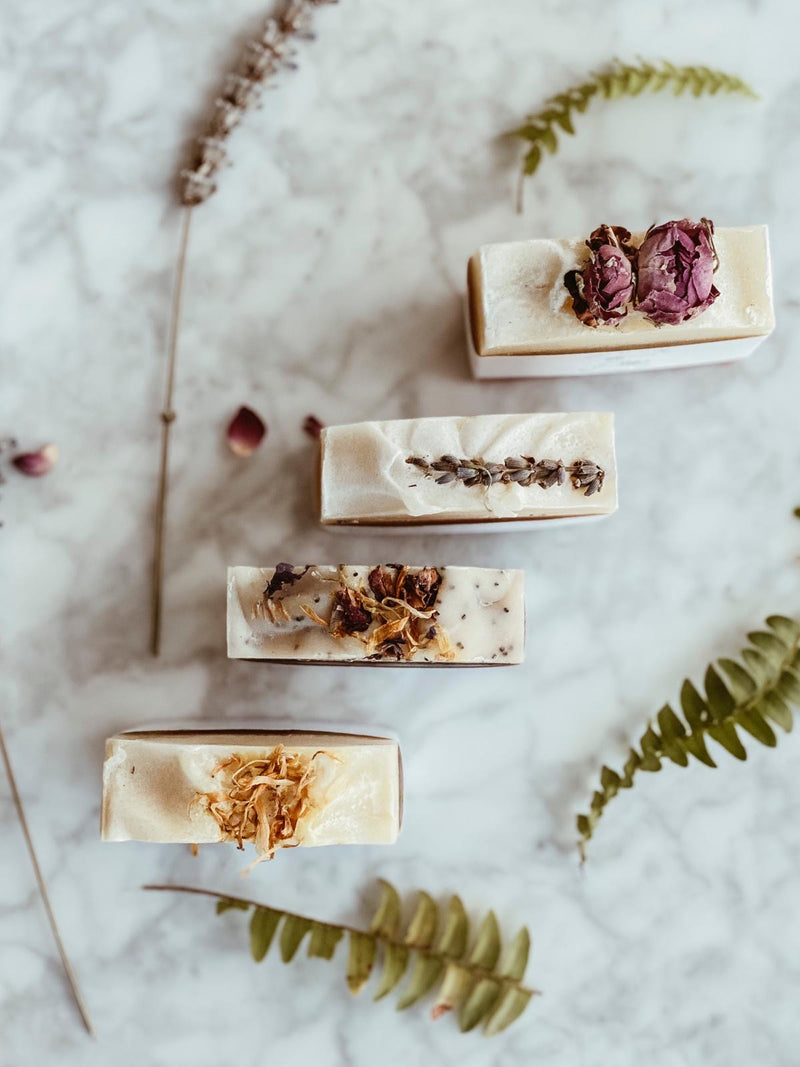 Natural Luxury Soap - Rose Geranium, Hands of Nature, The Clean Market