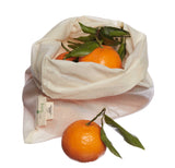Organic Cotton Produce Bags (Pack of 3), Ecoliving, The Clean Market