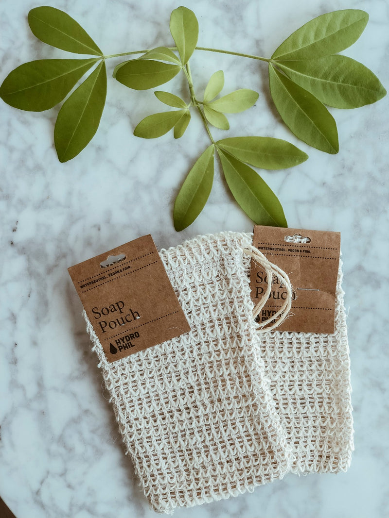 Biodegradable Soap Pouch - 100% Sisal, Soap Pouch, A fine choice, - The Clean Market