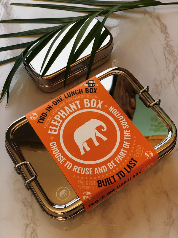 Two-in-One Lunchbox, Lunchbox, Elephant Box, - The Clean Market
