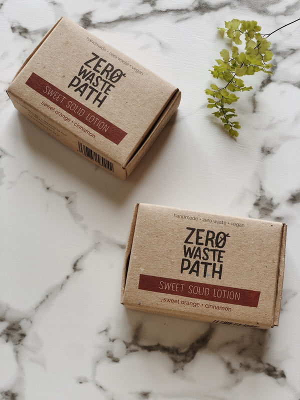 Solid Lotion - Sweet, body lotion, Zero Waste Path, - The Clean Market