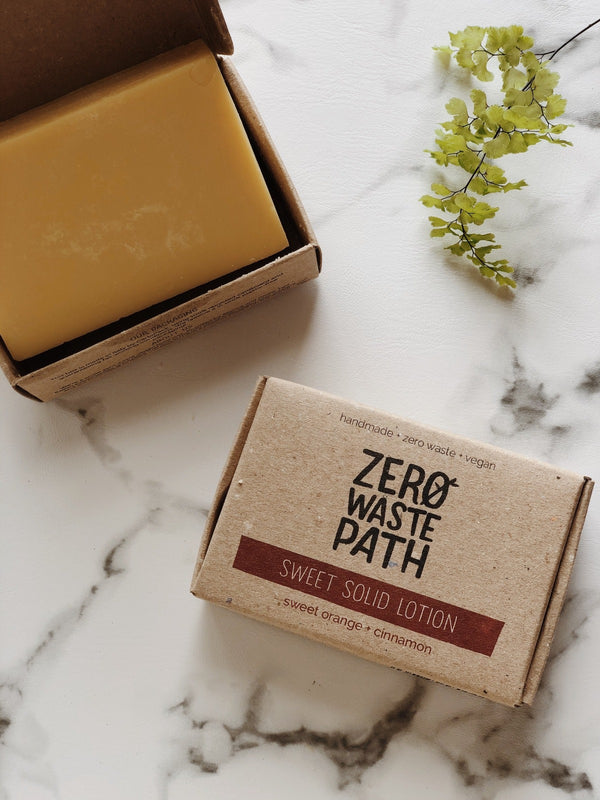 Solid Lotion - Sweet, Zero Waste Path, The Clean Market