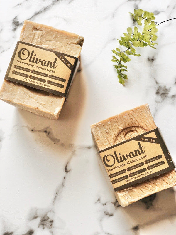 Olivant - Vegan Olive Oil Aleppo Soap, Levant Soap, The Clean Market