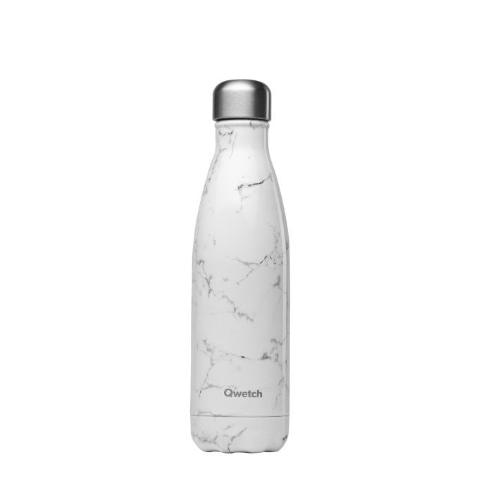 Insulated Stainless Steel Bottle - Marble - The Clean Market